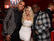 AIDS Oscars party 3 - Nicki Chris Randy