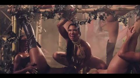 Nicki Minaj Anaconda Video Behind The Scenes Vlog