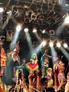 Colorful Nicki In Japan