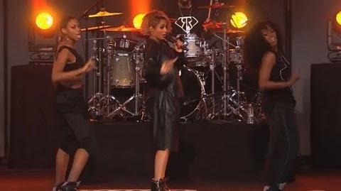 """Ciara Performs """"I'm Out"""""""