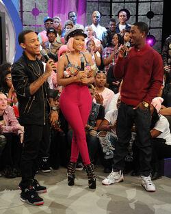 Nicki Minaj Celebs BET 106 Park 3NFmc9bWVDBl.jpg