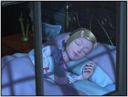 Helen sleeping