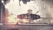2B's Defense Machine Battle