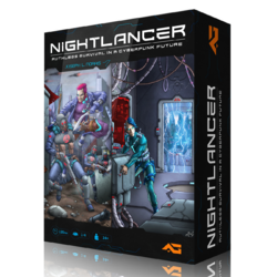 Nightlancer board game