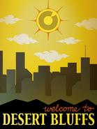 Desert Bluffs poster