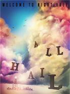 All Hail alt poster design