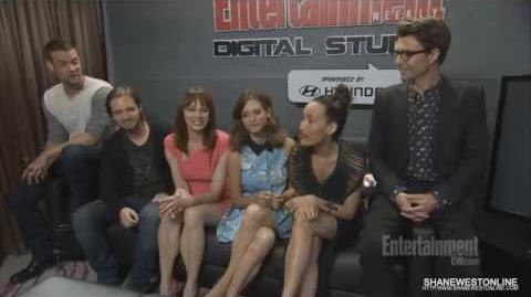 Nikita Cast Interview, Entertainment Weekly (SDCC 2013)