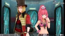 Clover with Dio near Laboratory