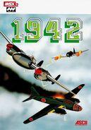 1942 MSX Cover
