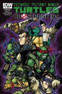TMNT Ghostbusters Vol 1 2 RE Comic Xposure Variant