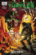 TMNT Ghostbusters Vol 1 4 RE Hot Topic Variant
