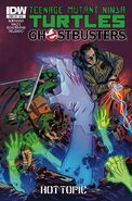 TMNT Ghostbusters Vol 1 3 RE Hot Topic Variant