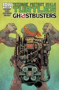 TMNT Ghostbusters Vol 1 3 SUB Variant