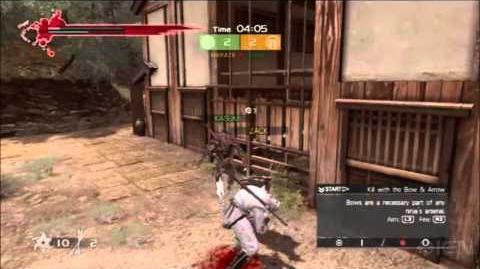 Ninja Gaiden 3 Multiplayer Yosuke Hayashi Commentary Video (2)