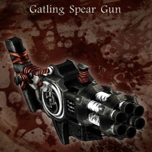 Gatling Spear Gun