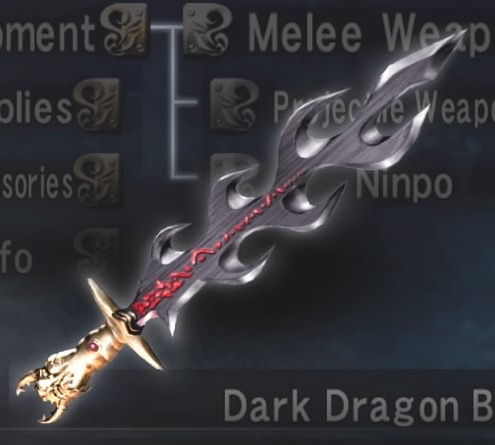 Dark Dragon Blade