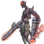 NG2 Art Enemy Chainsaw Zombie 1.jpg