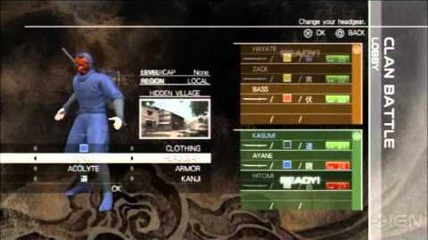 Ninja Gaiden 3 Multiplayer Yosuke Hayashi Commentary Video (1)