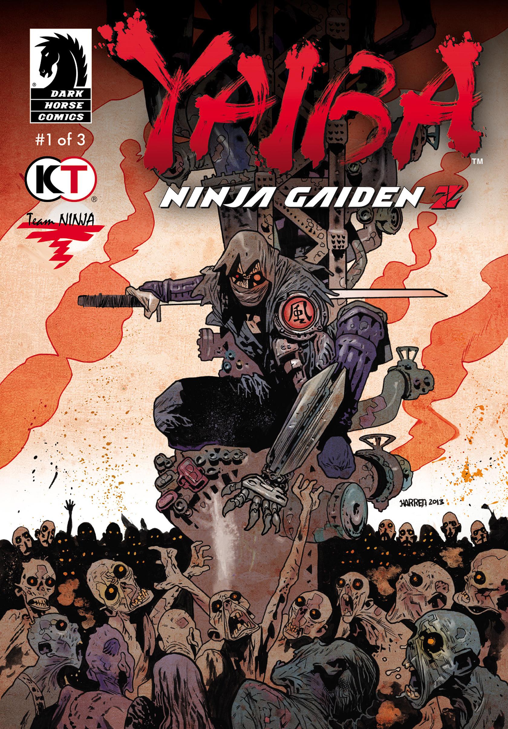 Yaiba: Ninja Gaiden Z (comic)