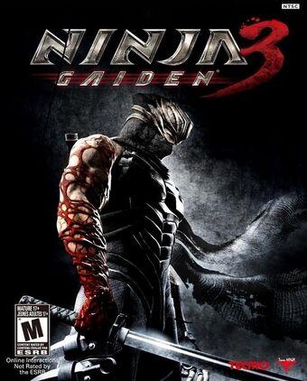 ninja gaiden 2 xbox 360 cover