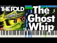 LEGO NINJAGO - The Ghost Whip By The Fold - Synthesia Piano Tutorial