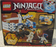 Ninjago 2260 Back Box