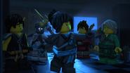 Nya and the other Ninja