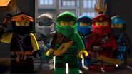 The Ninja team masked