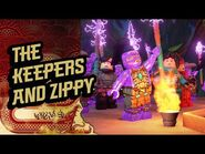 Ninjago Season 3 - The Keepers and Zippy - The Island
