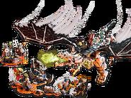 71721 Skull Sorcerer's Dragon 2