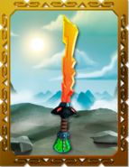 Departed Elemental Blade