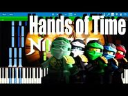 LEGO NINJAGO - The Time Is Now (Hands of Time) by The Fold - Synthesia Piano Tutorial