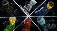 Meet the Ninja split screen