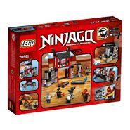 Ninjago 70591 Back Box