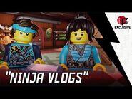 LEGO NINJAGO- Ninja Vlogs! - ALL-NEW MINI-SERIES!