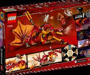 71753 Fire Dragon Attack Box Backside