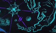 Sea scroll map