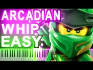 -EASY- LEGO NINJAGO - The Arcadian Whip by The Fold - Synthesia Piano Tutorial