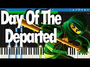 LEGO NINJAGO - Day Of The Departed by The Fold - Synthesia Piano Tutorial