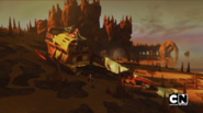 Корабль разрушен