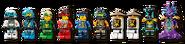 71756 Hydro Bounty Minifigures