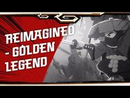 LEGO NINJAGO LEGACY shorts - Reimagined - Golden Legend
