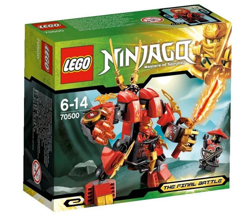 70500 Огненный робот Кая