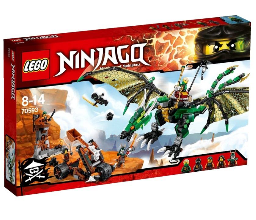70593 Зелёный Дракон