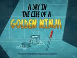 Один день из жизни Золотого Ниндзя