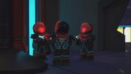 Красный 27 пришёл на дежурство