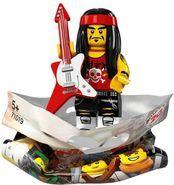 71019 Gong & Guitar Rocker