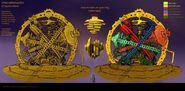 Ninjago Celestial Clock (Concept Art)