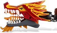 2507 Fire Dragon Face