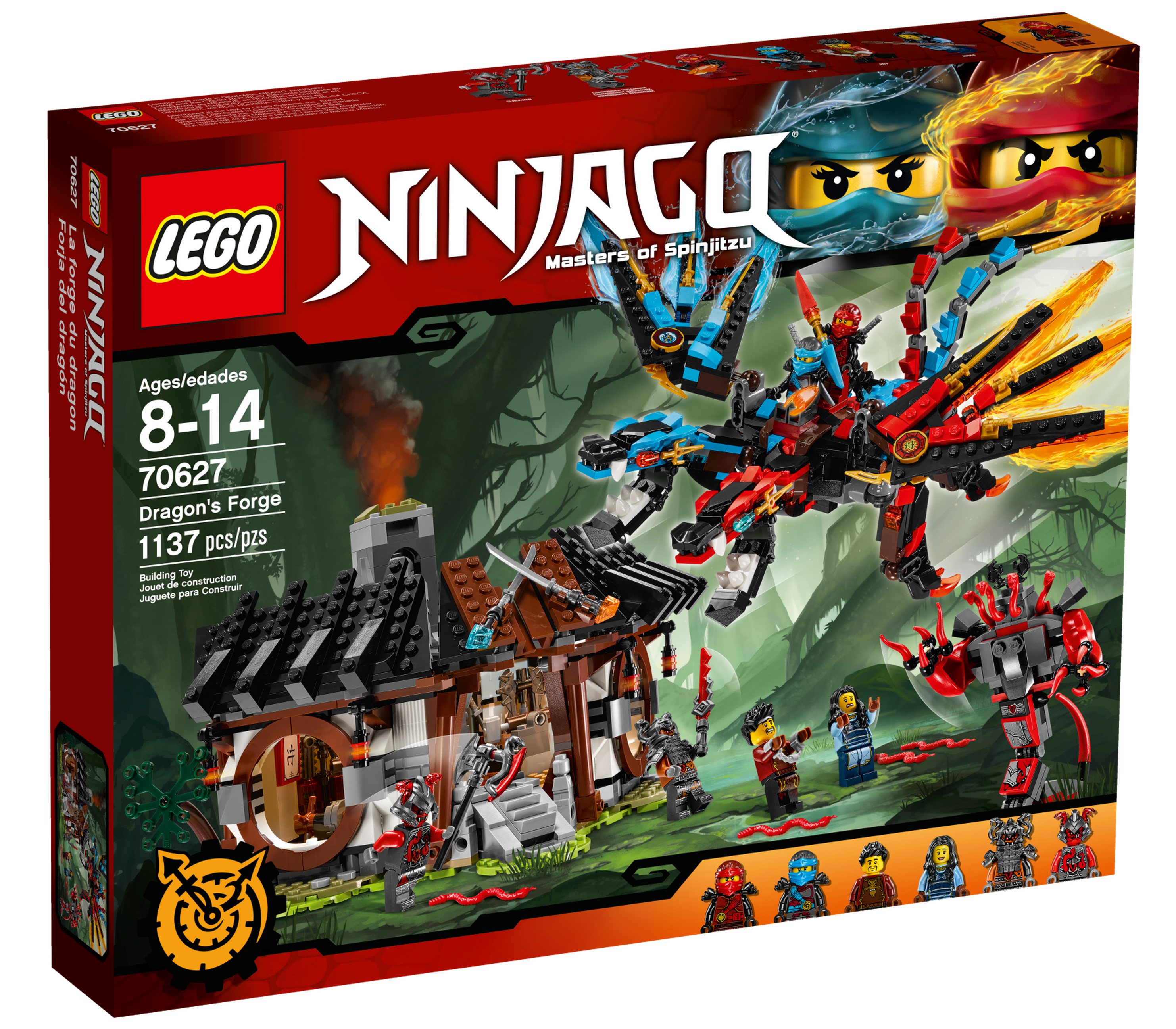 70627 Dragon's Forge